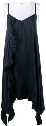 P.A.R.O.S.H. Pleated Trim Dress