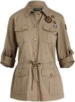 Lauren Ralph Lauren Ralph Lauren Patchwork Military Jacket