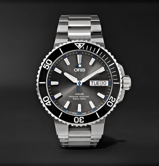 Oris Aquis Hammerhead Limited Edition Automatic 45.5mm Stainless Steel Watch, Ref. No. 01 752 7733 4183-Set Mb