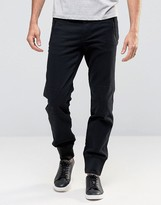 Cheap Monday Zip Cuffed Taper Chino Black