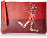 Marc by Marc Jacobs Screwed Up Faces Chica Zip Pouch Coin Purse