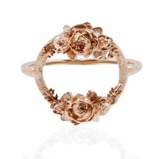 Lee Renee Rose Halo Ring- Rose Gold