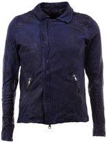 Giorgio Brato distressed leather jacket