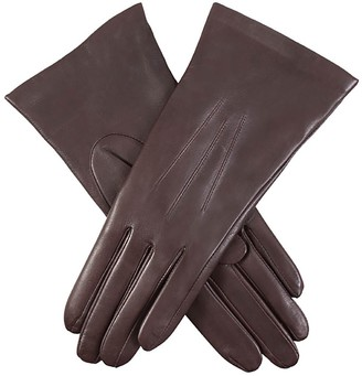 Dents ladies Cashmere Lined Hairsheep Leather Gloves Mocca (7)