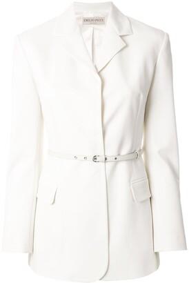 Emilio Pucci Belted Blazer Jacket