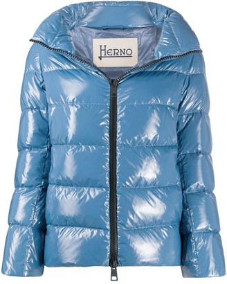 Herno Padded Zip-Front Jacket