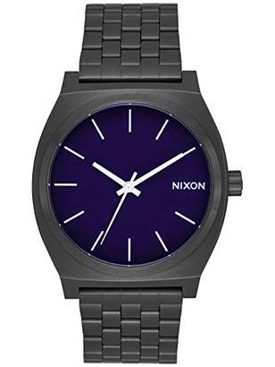 Nixon Unisex Adult Analogue Quartz Watch with Stainless Steel Strap A0452668-00