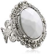 "Sorrelli Aegean Sea"" Victorian Ring"