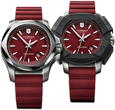Victorinox 241719.1 I.n.o.x Rubber Strap Watch, Red