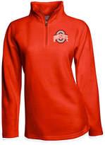 J America Women's Ohio State Buckeyes Fleece Quarter-Zip Pullover