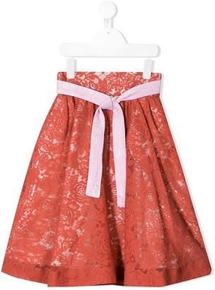 Raspberry Plum Statement Iva Skirt