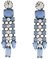 Tom Binns Neopolitano Crystal Drop Earrings