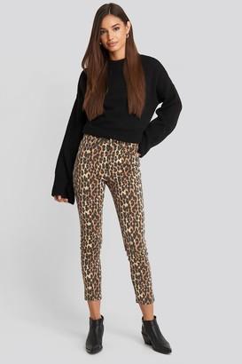 Trendyol High Belly Skinny Jeans Brown