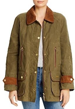 Barbour Beaufort Waxed Cotton Coat
