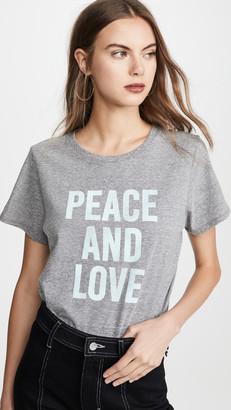 Cinq à Sept Tous Les Jours Peace and Love Tee