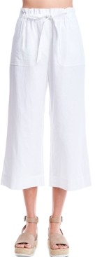 Fever Cropped Wide-Leg Pants
