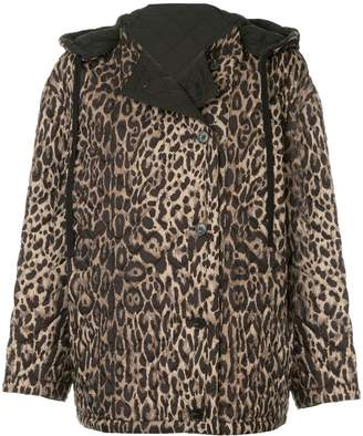 Ports 1961 leopard quilted jacket