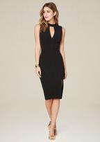 Bebe Hanna Front Slit Midi Dress
