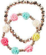 Carter's 2-Pack Rosette Pearl Bracelets