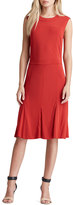 Tory Burch Deeann Fluted-Hem Dress