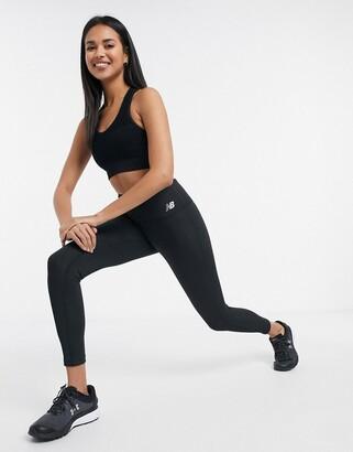 New Balance Running high waisted leggings in black