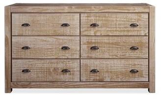 Grain Wood Furniture Montauk 6 Drawer Double Dresser Color: Driftwood