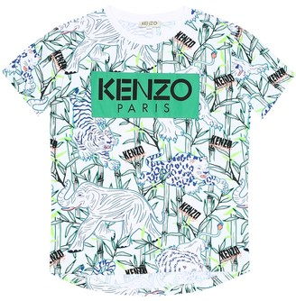 Kenzo Jimmy printed cotton T-shirt