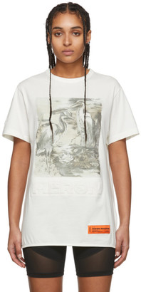 Heron Preston Off-White Heron Birds T-Shirt
