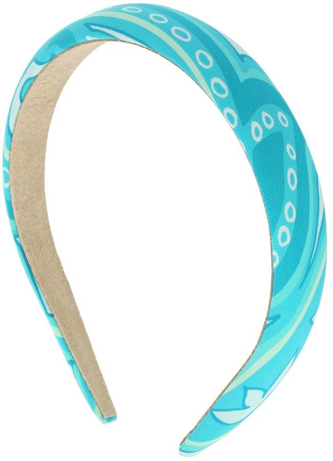 Etro Padded Motif Print Headband