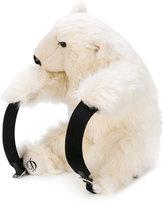 Dolce & Gabbana polar bear backpack - women - Calf Leather/Acrylic/Nylon/Polypropylene - One Size