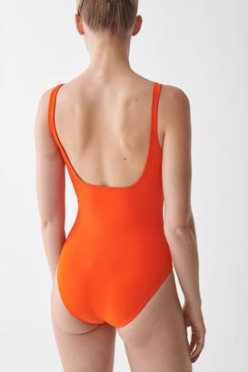 Cos Open-Back Swimsuit