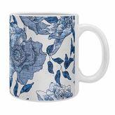 DENY Designs Holli Zollinger Summertime Indigo Coffee Mugs in Blue (Set of 2)