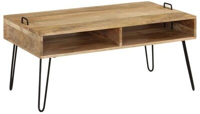 Thumbnail for your product : Union Rustic Throop Coffee Table with Storage
