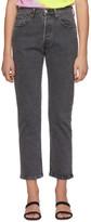 Levi's Levis Black 501 Original Jeans