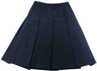 Nicole Farhi Black Wool Skirt for Women