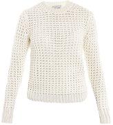 Acne Lina pineapple knit sweater