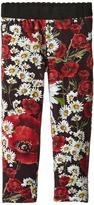 Dolce & Gabbana Fiori Leggings (Toddler/Little Kids)