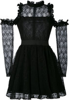 Manoush cold-shoulder lace dress