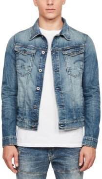 G Star Men's Arc 3D Slim-Fit Stretch Denim Jacket, Created for Macy's