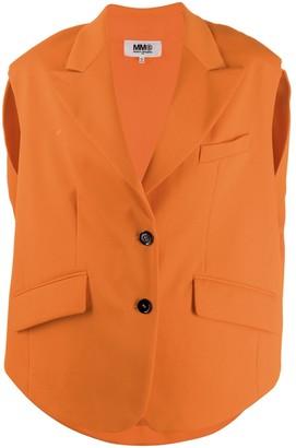 MM6 MAISON MARGIELA Oversized Single-Breasted Vest
