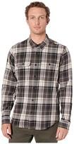 Filson Scout Shirt (Black/Cream Plaid) Men's Clothing