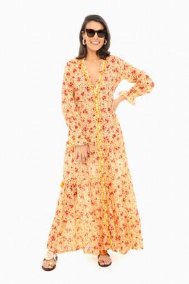 Poupette St Barth Rita Ruffled Dress