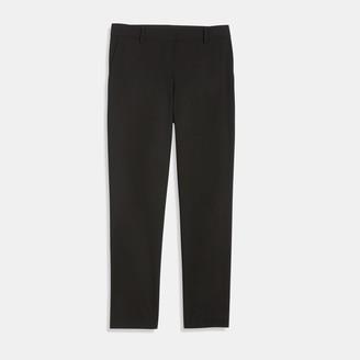 Theory Good Wool Slim Crop Pant
