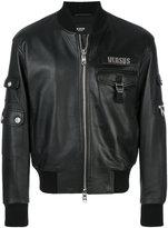 Versus multi-pocket bomber jacket