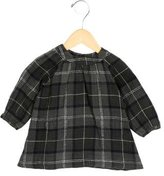 Bonpoint Girls' Plaid Long Sleeve Dress