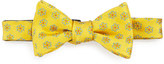 Ted Baker Daisy-Print Silk Bow Tie, Yellow