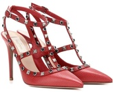 Valentino Rockstud Rolling Leather Pumps