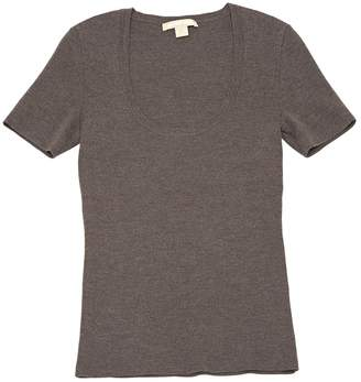 Michael Kors Brown Cashmere Knitwear
