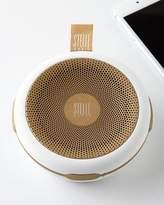 Stelle Audio White/Gold Go-Go Wireless Speaker