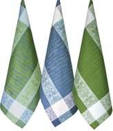 Luxury European Linen-Cotton Dish Towels Set 3-pieces